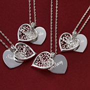 Pendant Personalized Heart