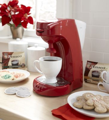 Single/Double Serve Ginny's Coffeemaker
