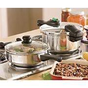 4-Piece Pressure Cooker Set