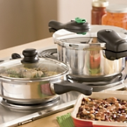 4-Piece Pressure Cooker Set