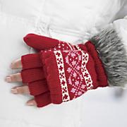 flip back gloves