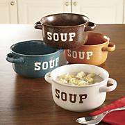 Stoneware Soup Bowl Set of 4