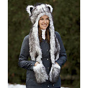 Animal Hat with Scarf