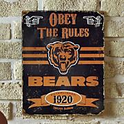Vintage NFL Sign
