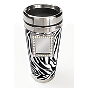 zebra travel mug 64