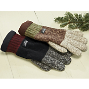 Gloves Ragg Wool Colorblock