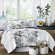Mona Oversized Embroidered Quilt Set