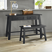 Rustic Desk And Bench