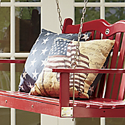 freedom flag indoor outdoor pillow