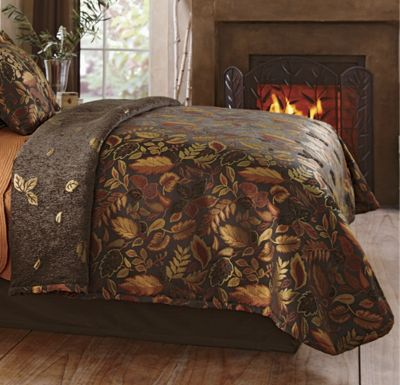 Falling Leaves Coverlet