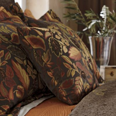Falling Leaves Decorative Pillow