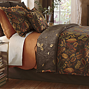 Falling Leaves Coverlet and Accessories