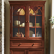 Hutch Black Lighted