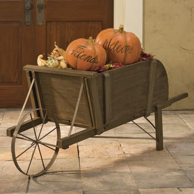 Decorative Wheelbarrow
