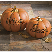 Pumpkins Set Of 2