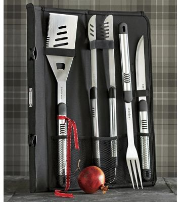 5-Piece Top Chef Barbecue Set And Case