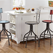 adjustable retro stool
