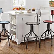 adjustable retro stool
