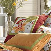 garden party 16 sq pillow