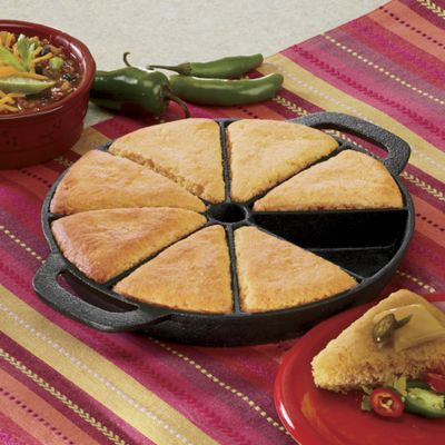 Cast Iron Cornbread Pan