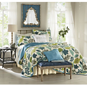 cayman oversized quilt sham and decorative pillow