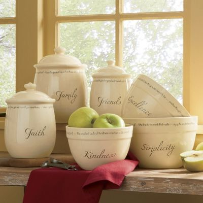 Inspirations Canisters and Bowls