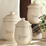 Set Of 3 Inspirations Canisters