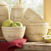 Set Of 3 Inspirations Mixing Bowls