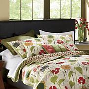 sunny garden decorative pillows