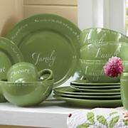 16 pc inspirations dinnerware