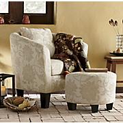 crestview accent chair ottoman