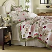 Darcy Oversized Cotton Quilt & Sham