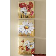 set of 3 daisy prints