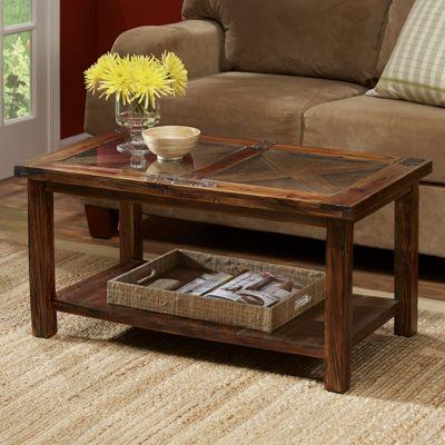 Barn Door Coffee Table From Through The Country Door 41019