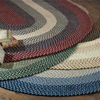 Braided Wool Rugs