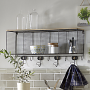 Wire Cubbie Shelf