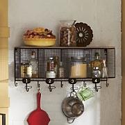Wire Cubbie Shelf