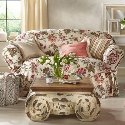 Harmony Coordinates Slipcovers, Pillows & Window Treatments