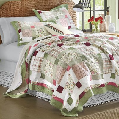 Darcy Oversized Cotton Quilt & Sham