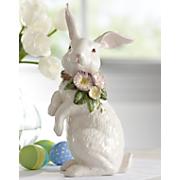 tulip bunny figurine