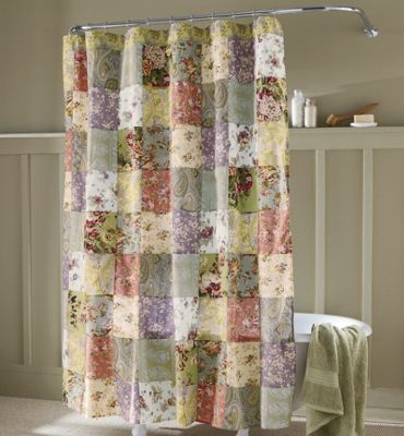 & Blooming Prairie Shower Curtain from Through the Country Door | 41376 Pezcame.Com