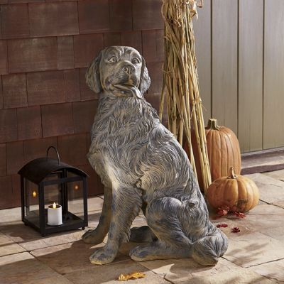 Golden Retriever Statue From Through The Country Door