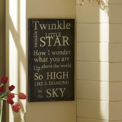 Twinkle Little Star Sign