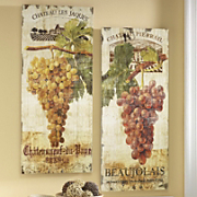set of 2 vineyard prints