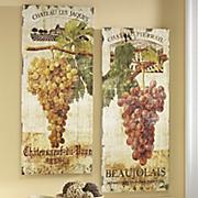 set of 2 vineyard prints