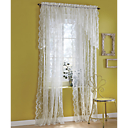 Petite Fleur Lace Window Treatments