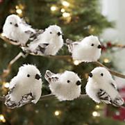 Set Of 6 Mini Snowbirds