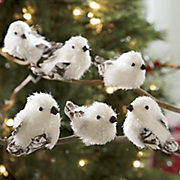 Set Of 6 Mini Snowbirds