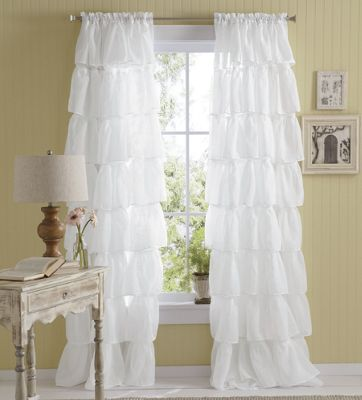 Gypsy Ruffled Panels From Through The Country Door Ni41571