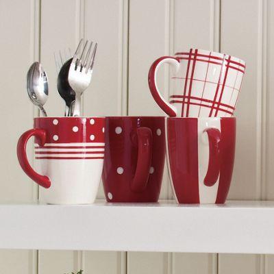 Set of 4 Fun-Tastic Mugs